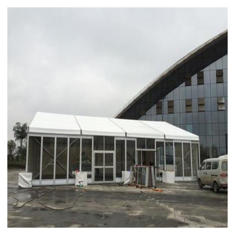 多边形玻璃篷房 玻璃篷房价格 篷房价格